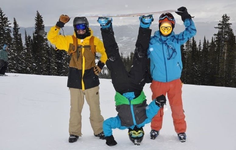 Marc Jijina (Quality Department Head) and Dominick Ruggieri (Additive Engineer) – Snowboarding in Breckinridge